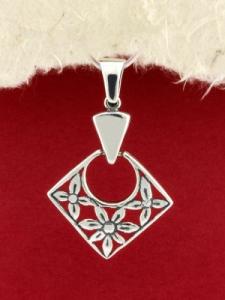 Сребърен медальон - PK334