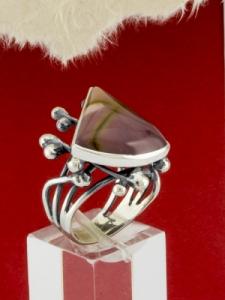 Сребърен пръстен - RKWS67 - МОКАИТ