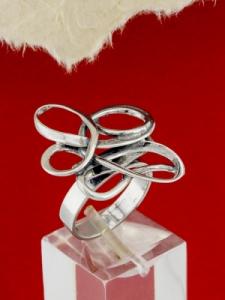 Сребърен пръстен - RK372