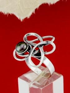 Сребърен пръстен - RK374