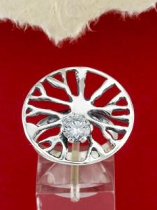 Сребърен пръстен - RK373