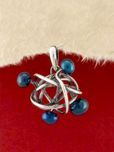 Сребърен медальон - PKWS72