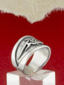 Сребърен пръстен - R117