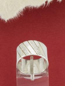 Пръстен от сребро -  R167