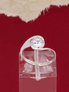 Сребърен пръстен - R243
