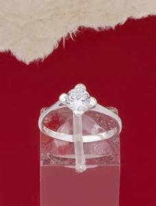 Сребърен пръстен - R244