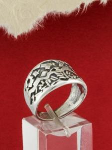 Сребърен пръстен - RK62