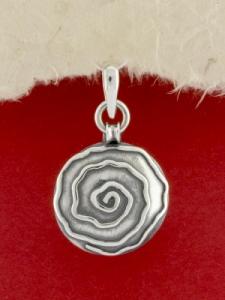 Сребърен медальон - PK366_S