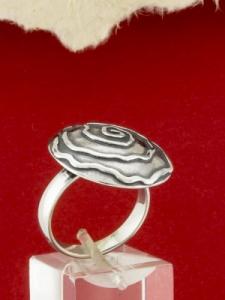 Сребърен пръстен - RK366