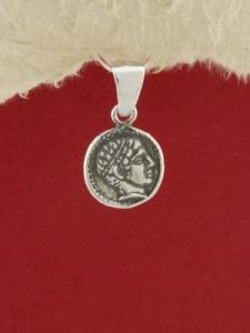 Сребърен медальон - P340