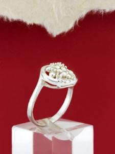 Сребърен пръстен - RK273