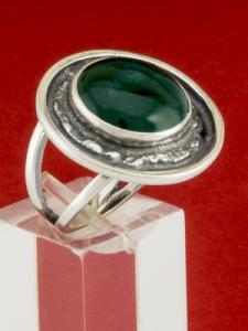 Сребърен пръстен - RKWS63 - Авантюрин