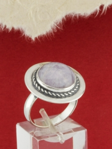 Сребърен пръстен - RKWS77 - Аметист