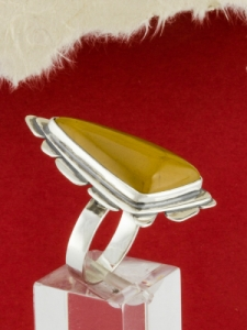 Сребърен пръстен - RKWS87 - Мокаит