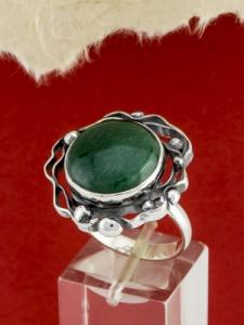 Сребърен пръстен - RKWS100 - Авантюрин