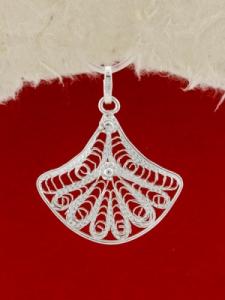Сребърен медальон филигран - FP_VETRILO