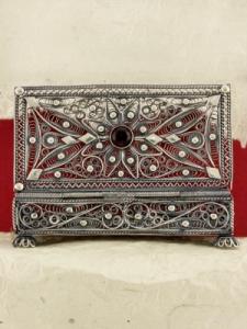 Сребърна филигранна кутийка - FBOX1