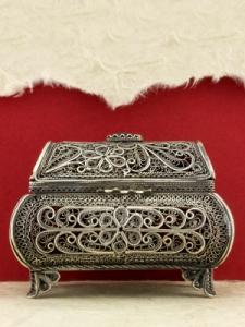Сребърна филигранна кутийка - FBOX2