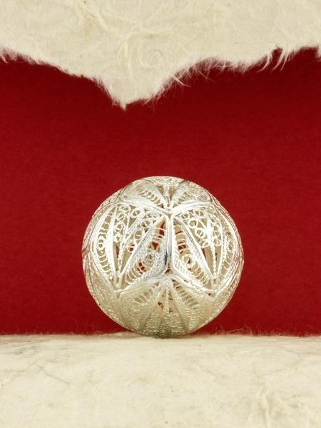 Сребърна филигранна топка - S33BALL