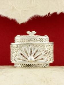 Сребърна филигранна кутийка - S37BOX