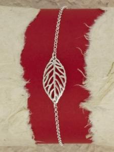 Сребърна гривна - B200537