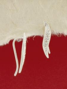 Сребърни обеци - E139273