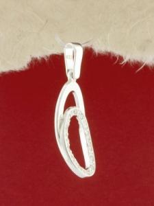 Сребърен медальон - P176754