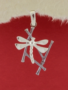 Сребърен медальон - P180914