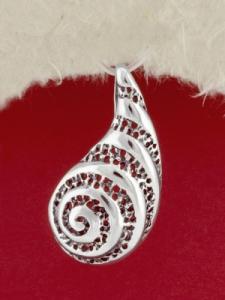 Сребърен медальон - P180984
