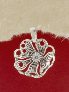 Сребърен медальон - P182861