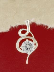 Сребърен медальон - P184489