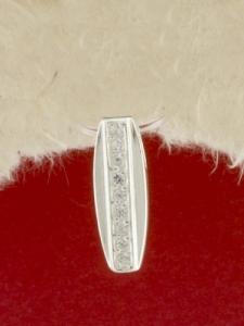 Сребърен медальон - P186024