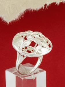 Сребърен пръстен - R1515780