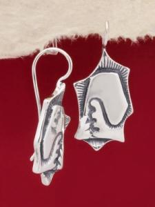 Сребърни обеци EK172
