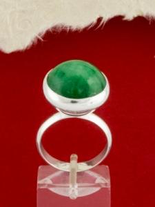 Сребърен пръстен - RKWS8 - Авантюрин