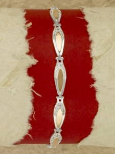 Сребърна гривна - BK0147.08