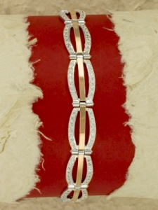 Сребърна гривна - BK0181.08