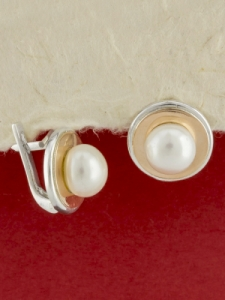 Сребърни обеци - EK0033.10