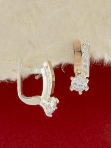 Сребърни обеци - EK0047.10