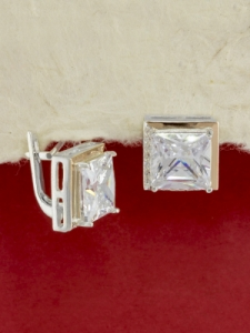 Сребърни обеци - EK0064.10