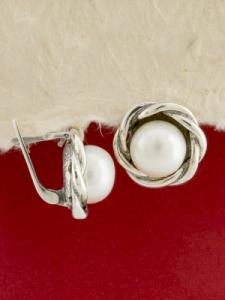 Сребърни обеци - EK0092.10