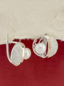 Сребърни обеци - EK0115.10