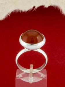 Сребърен пръстен - RKWS8 - Червен Яспис