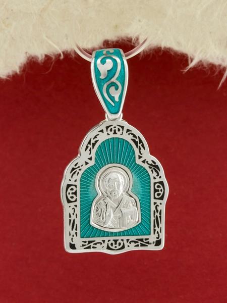 Сребърен медальон - P1057