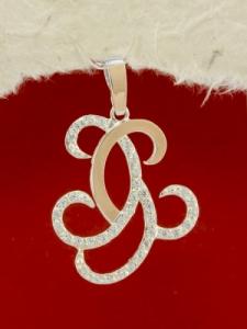 Сребърен медальон с позлата - PK0029.20