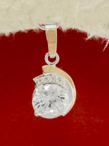 Сребърен медальон - PK0119.20