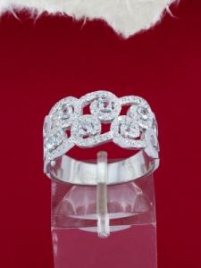Сребърен пръстен - RK7094.01
