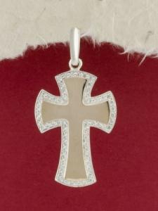 Сребърен кръст - P0217.10