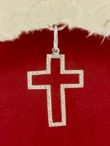 Сребърен кръст- P0232.10