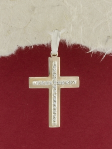 Сребърен кръст - P0239.10